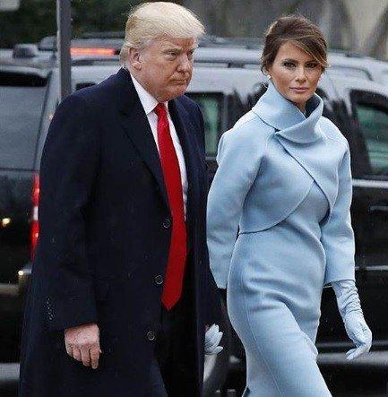 Módna prehliadka z Trumpovej inaugurácie: Jeho žena vyzerala ako pravá dáma