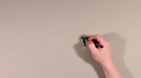 Vytiahol ceruzky, nakreslil tučniaka a…wau, ako to urobil?
