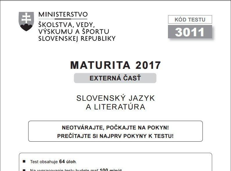 KVÍZ: MATURITA 2017 – Zvládli by ste odpovedať na týchto 10 otázok zo slovenského jazyka? Otestujte sa!