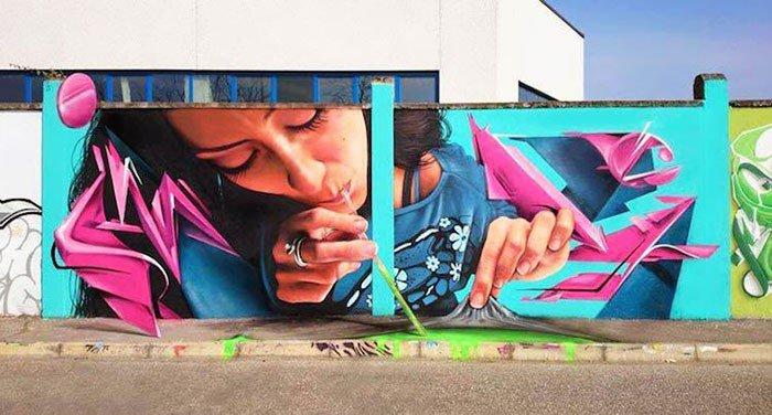Sila pouličného umenia: Tieto úžasné grafity vyzerajú ako živé!