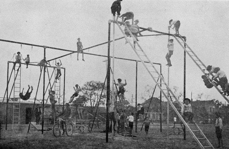 Zaspomínajme si: Detské ihrisko v roku 1920