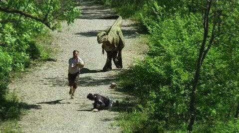 Pozor tyranosaurus! Jurský park v podaní Rémiho Gaillarda