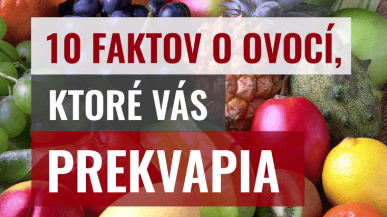 VIDEO: Rádioaktívne a explodujúce ovocie? Toto sú šokujúce fakty o ovocí!