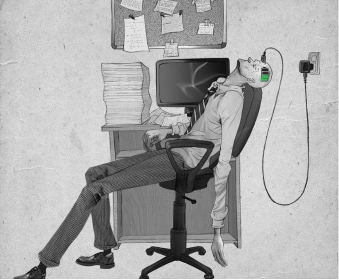 Hrozivé zobrazenie dnešnej doby: Nájdete sa v kresbách aj vy?