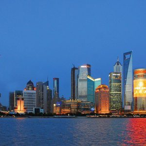 Šanghaj v Číne