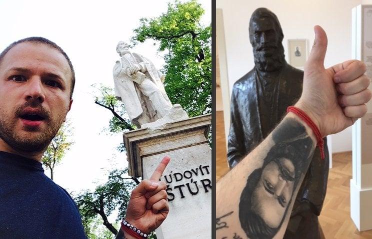 ROZHOVOR Na ruku si vytetoval Štúra a začal cestovať po Slovensku: Naša krajina má potenciál, treba jej dať šancu