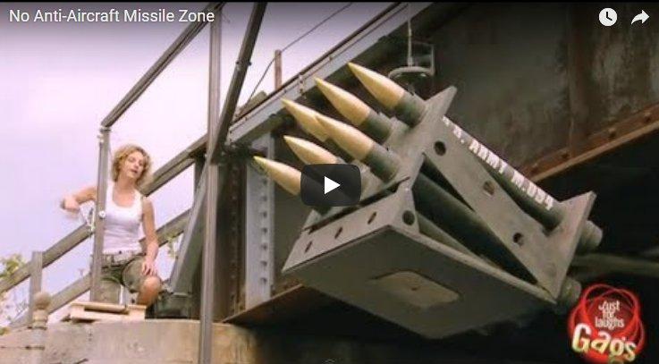 Ďalšie zábavné VIDEO zo skrytej kamery: Bezraketová zóna