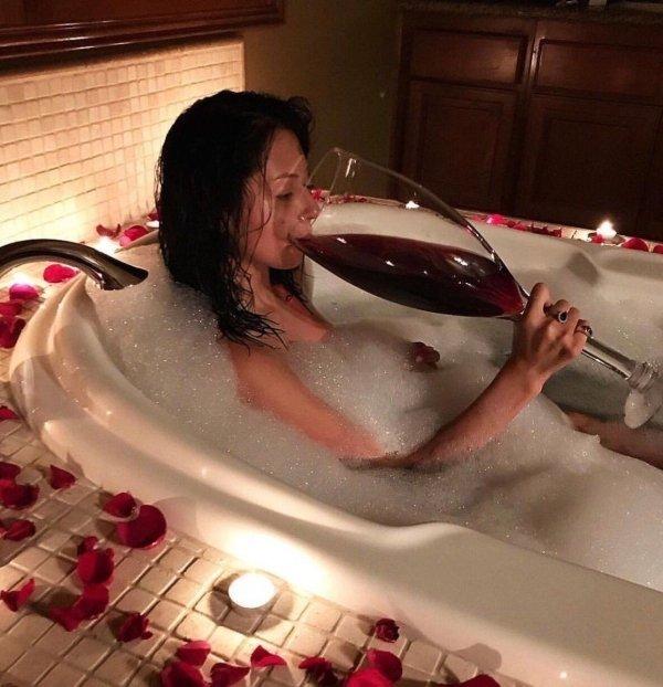 Pohárik vínka pred spaním …