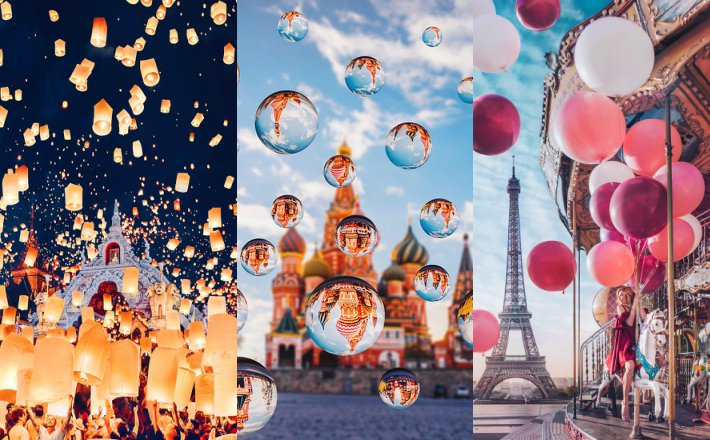 FOTO Mladá fotografka Kristina našla novú inšpiráciu, ktorá vás očarí: Všade samé balóny, lampióny a bublinky