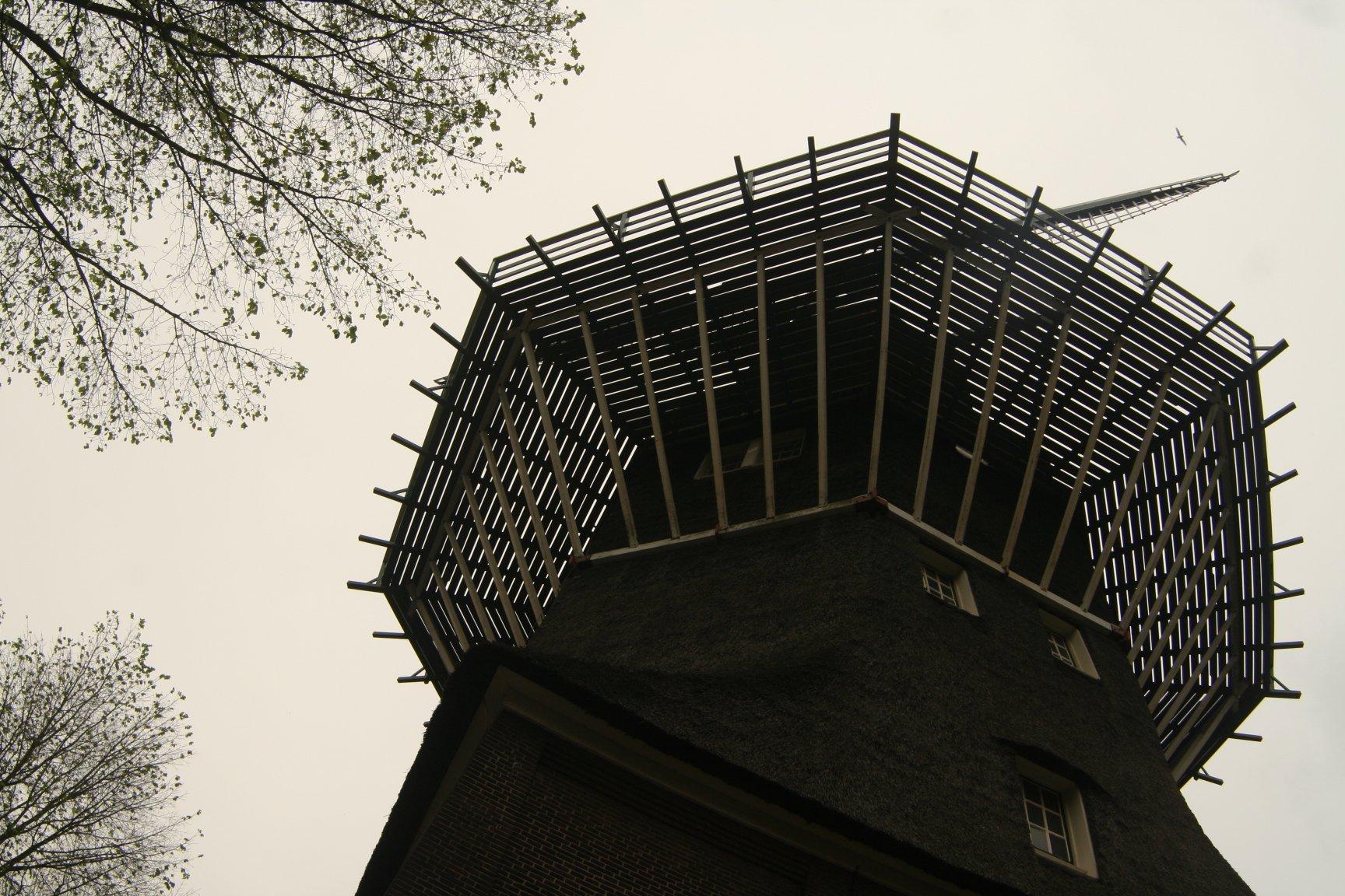 Mlyn, ďalšie holandské klišé, aj keď v Amsterdame skôr rarita