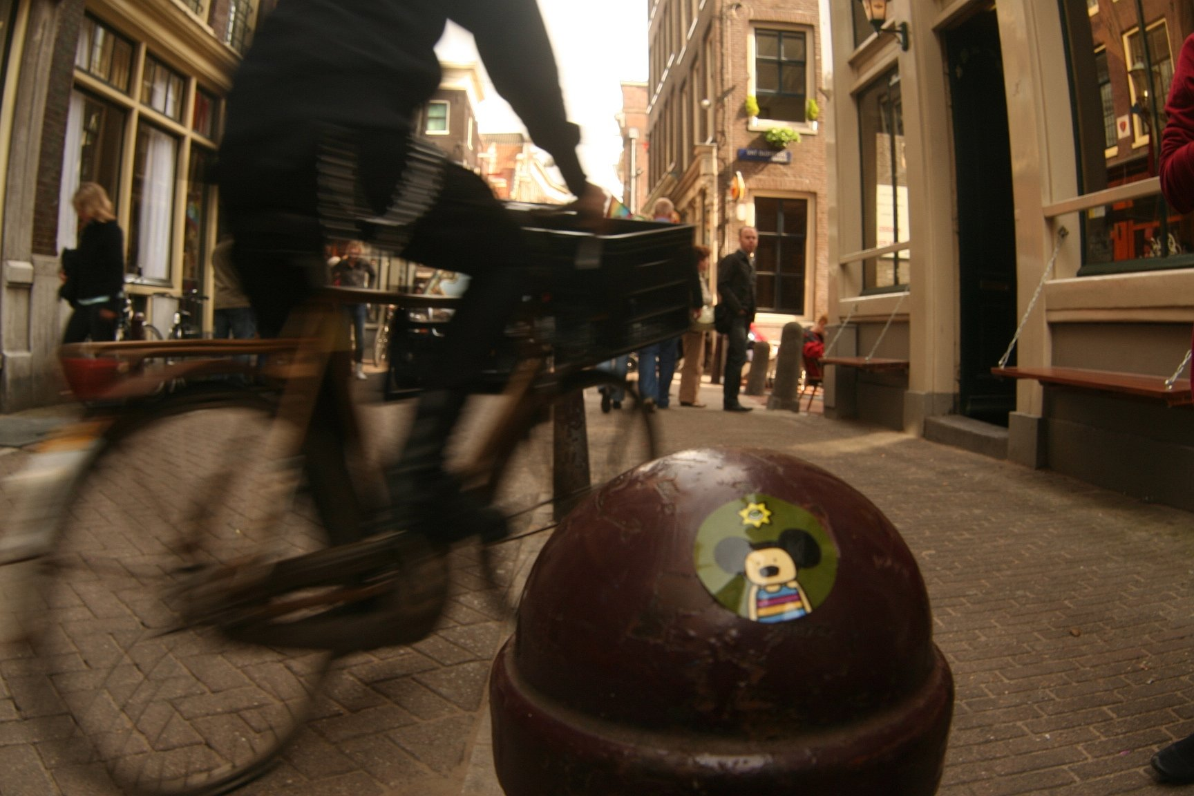 Amsterdam: Mesto streetartu a bicyklov