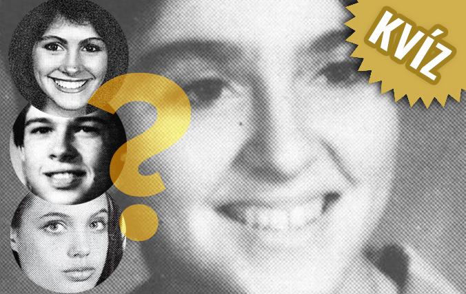 KVÍZ: Uhádnete, ktoré celebrity sa nachádzajú na fotkách z mladosti?