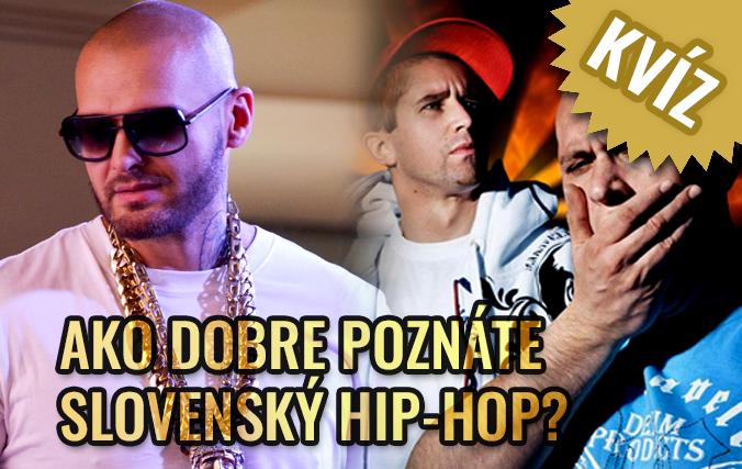 KVÍZ Ego, Rytmus, Kali a ďalší: Ako dobre poznáte slovenský hip-hop?