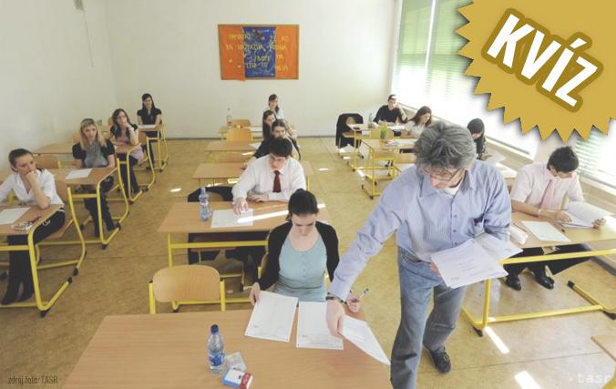 KVÍZ – MATURITA 2018: Zvládli by ste tohtoročný test zo slovenčiny a literatúry?