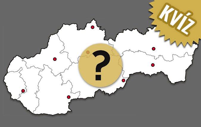 KVÍZ – SLEPÁ MAPA Slovenska: Poznáte naše mestá a ich polohu?