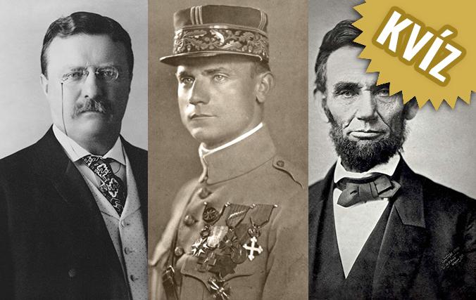 KVÍZ Dávali ste pozor na dejepise? Uhádnite historické osobnosti len na základe ich fotografie