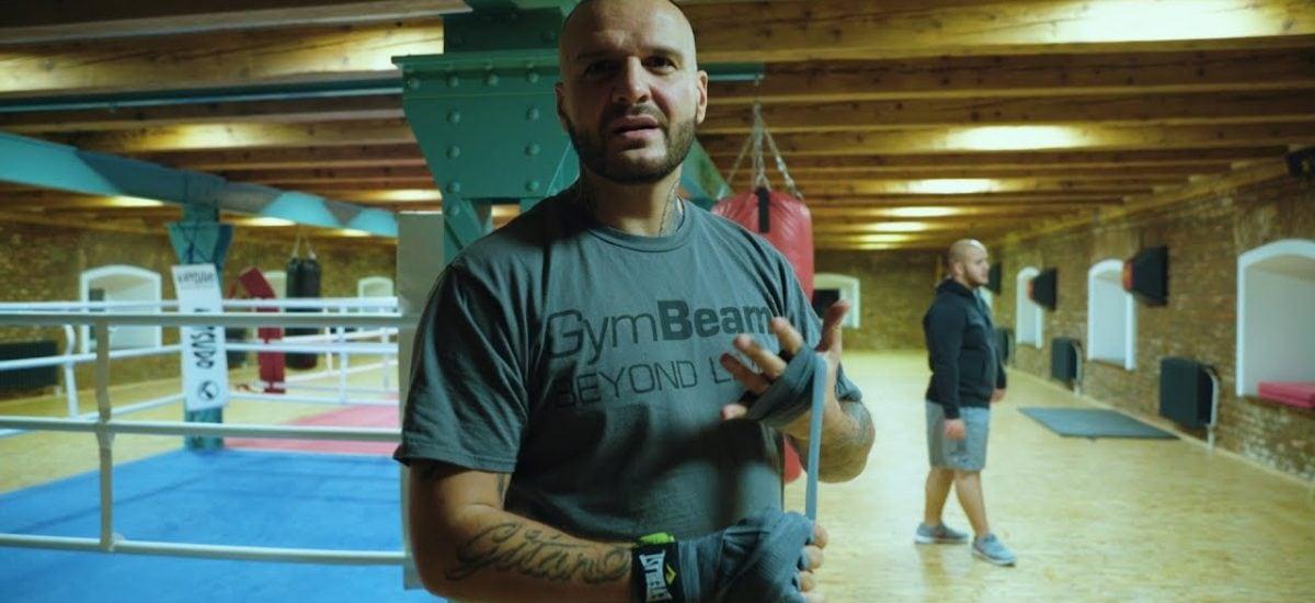 Rytmus na tréningu boxu