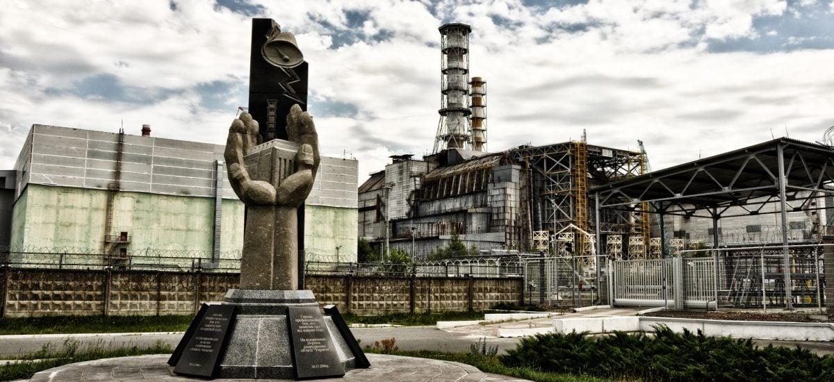 Pohľad na Černobyľ
