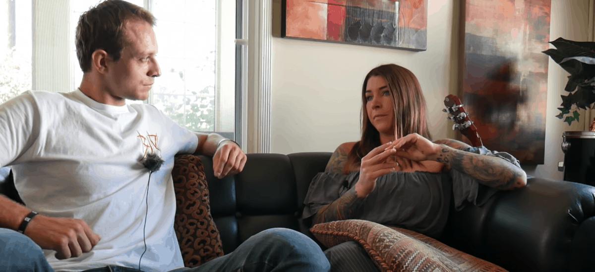 MILF a mladé dievča lesbické sex
