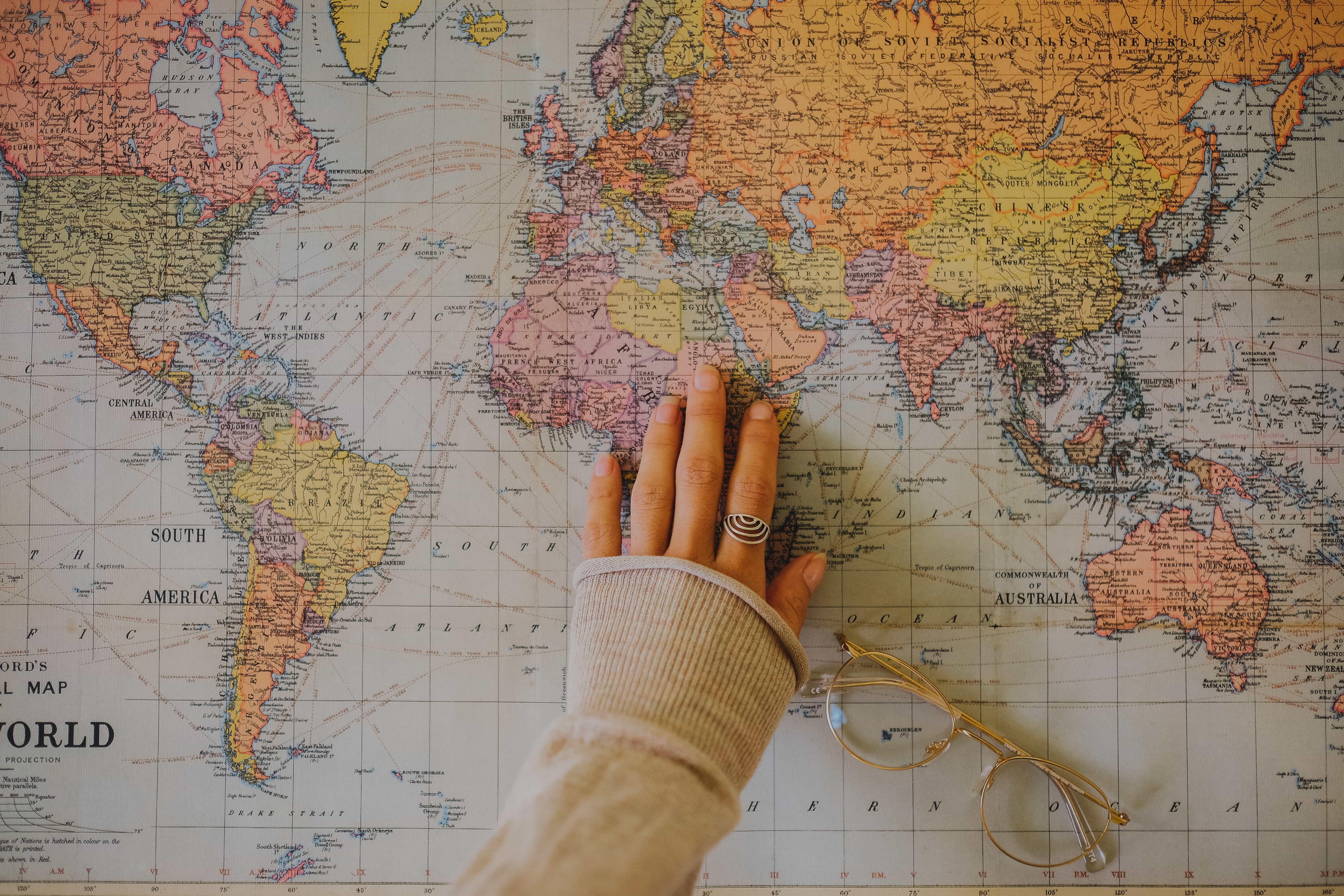 Kviz Prever Sa Ako Dobre Zvladas Slepu Mapu Sveta Dokazes Urcit