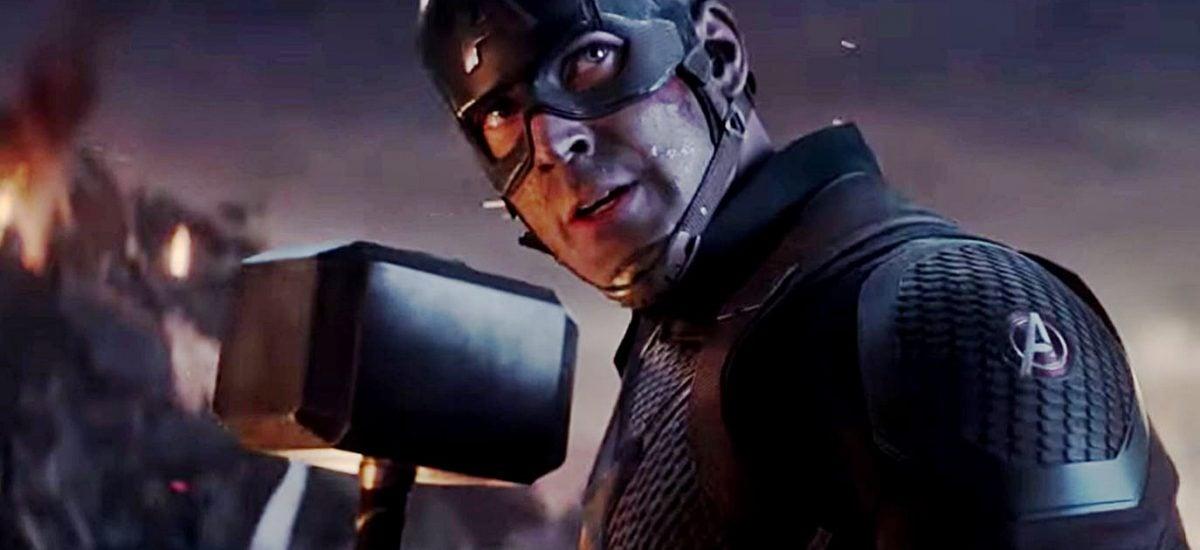 Captain America vo filme Avengers: Endgame