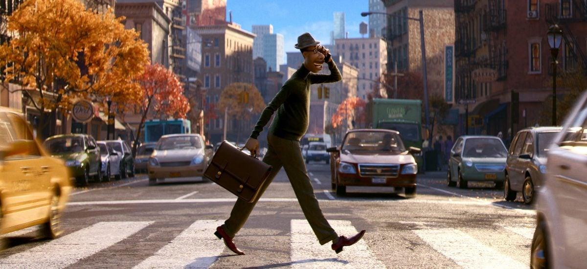 Záber z animáku Soul