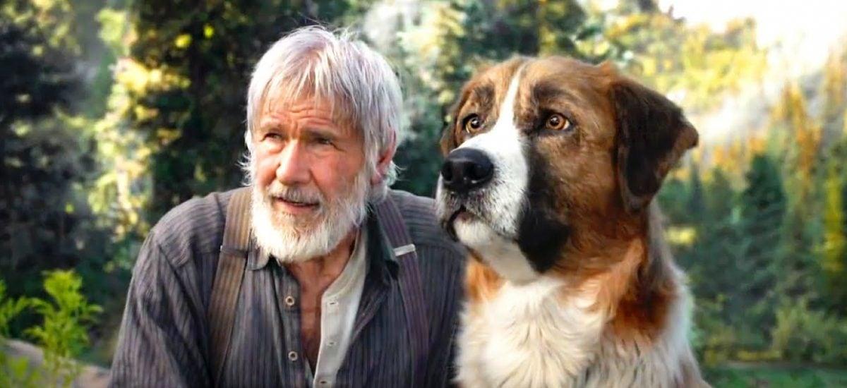 Harrison Ford vo filme Volanie divočiny