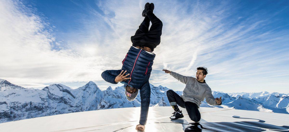 B-Boys Junior a Hong10 v battli na Matterhorne