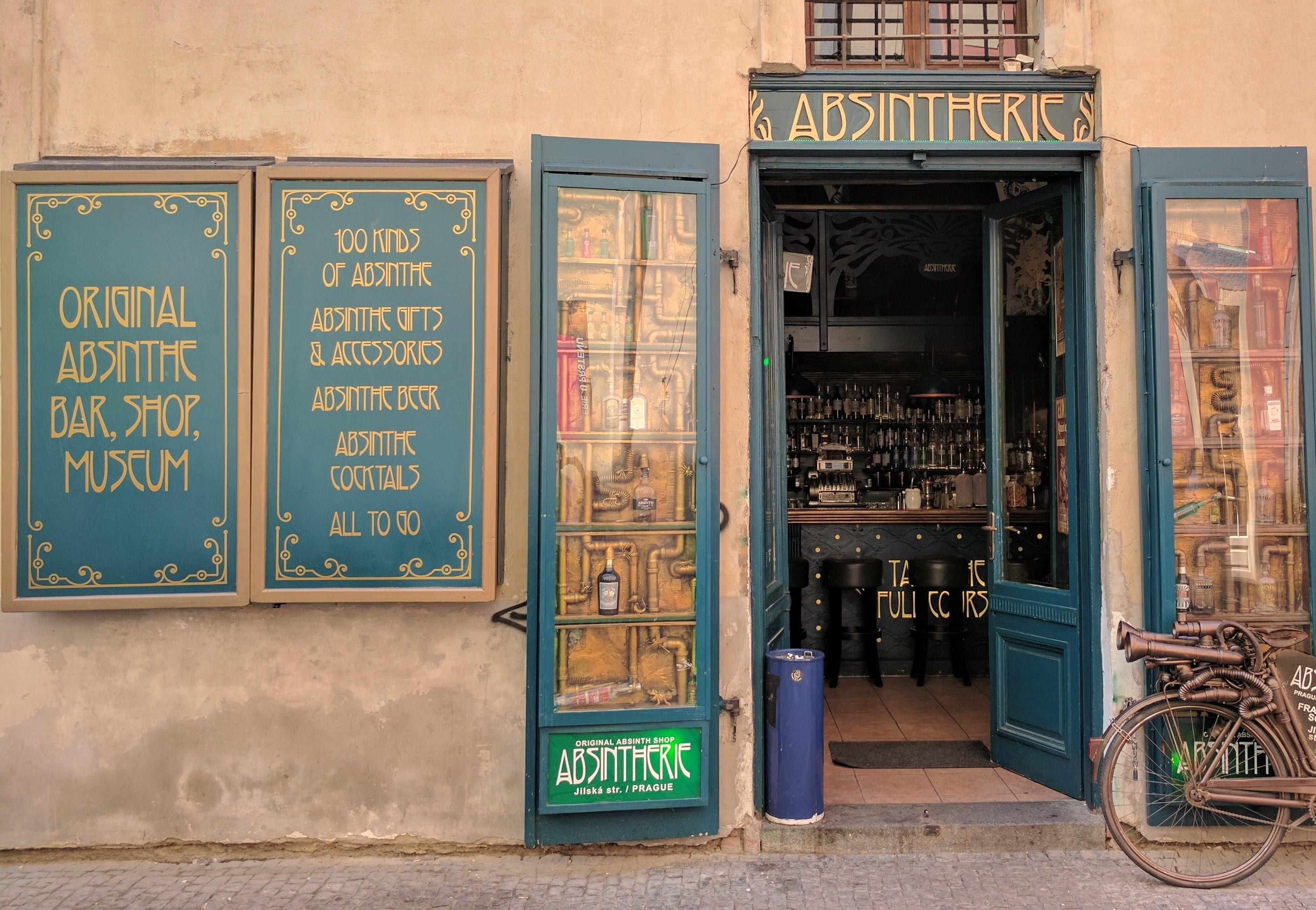 Malá krčma s otvorenými dverami