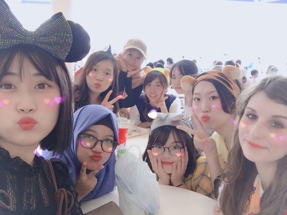 Spolužiačky z Južnej Kórey