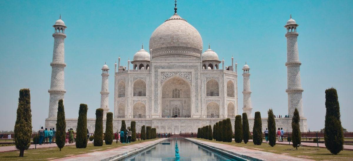 Taj Mahal v Indii