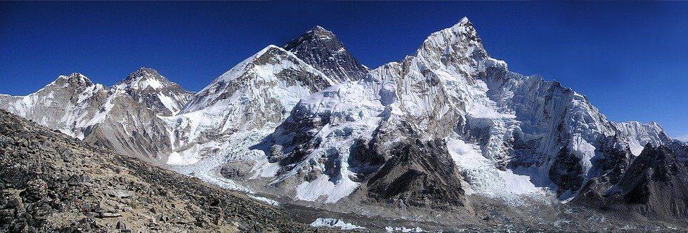 Pohľad na Mt. Everest