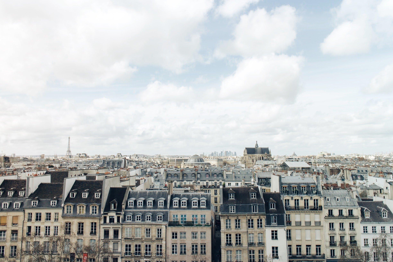 Pohľad na krásny Paríž