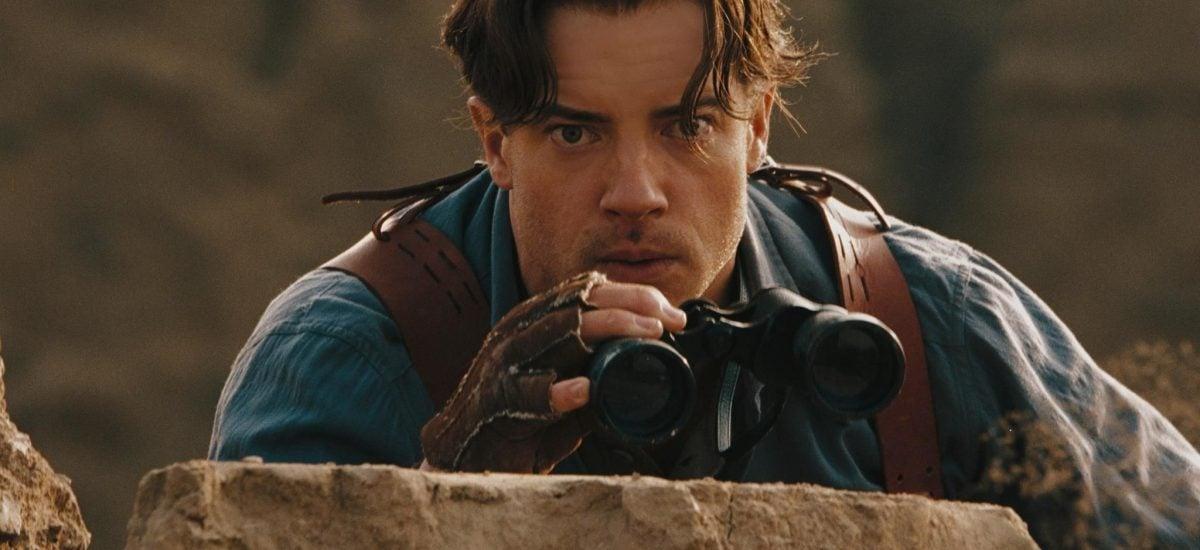 Brendan Fraser vo filme Múmia