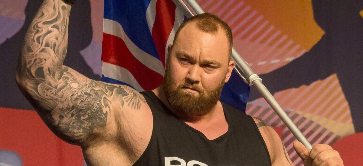 Strongman Haftor Bjornsson