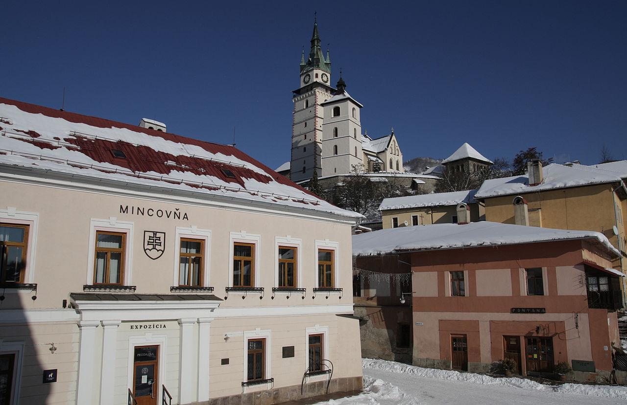 Mincovňa v Kremnici.