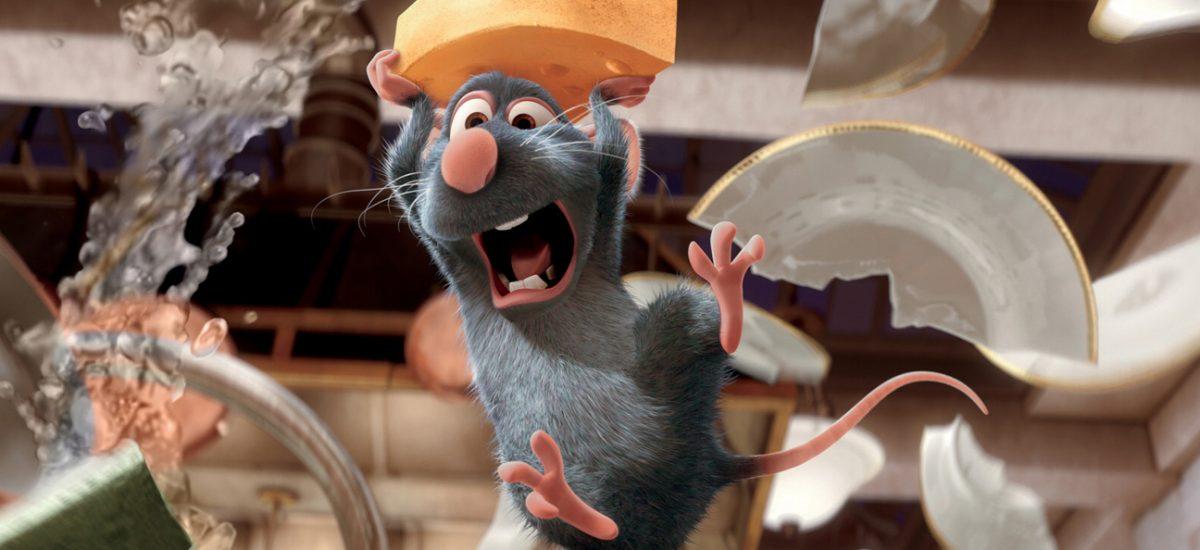 Remi z animovaného filmu Ratatouille