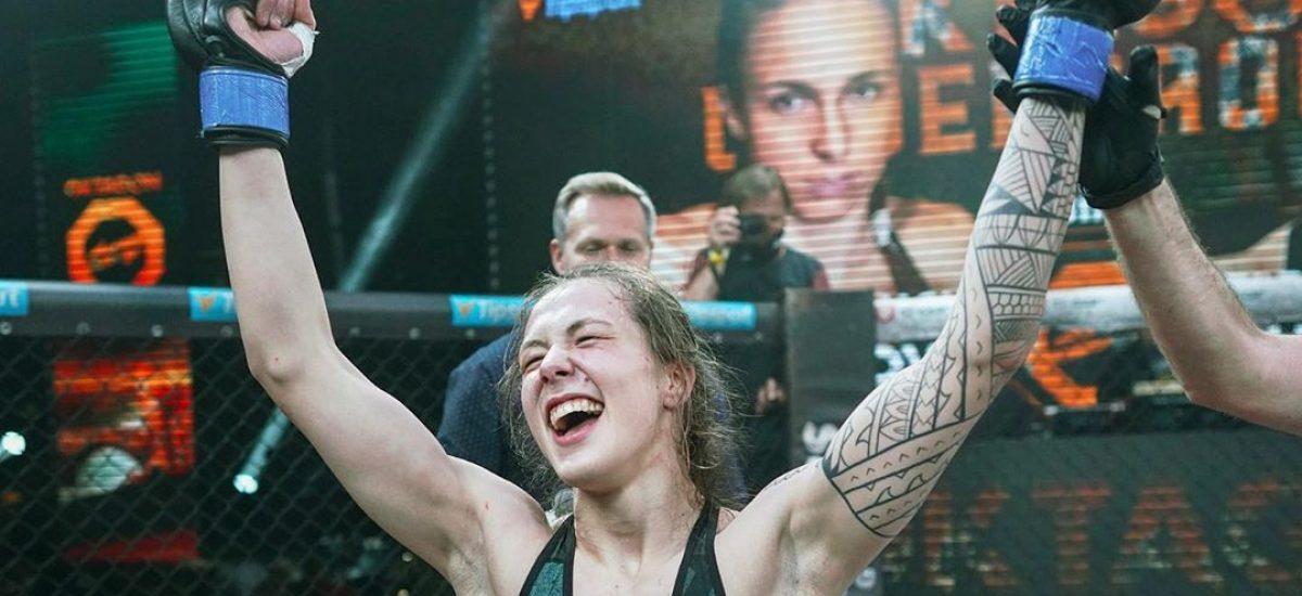 Tereza Bledá zvíťazila v Oktagon Underground nad skúsenou UFC bojovníčkou