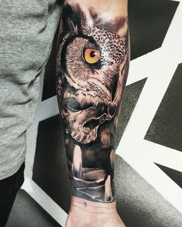 Tetovanie sovy