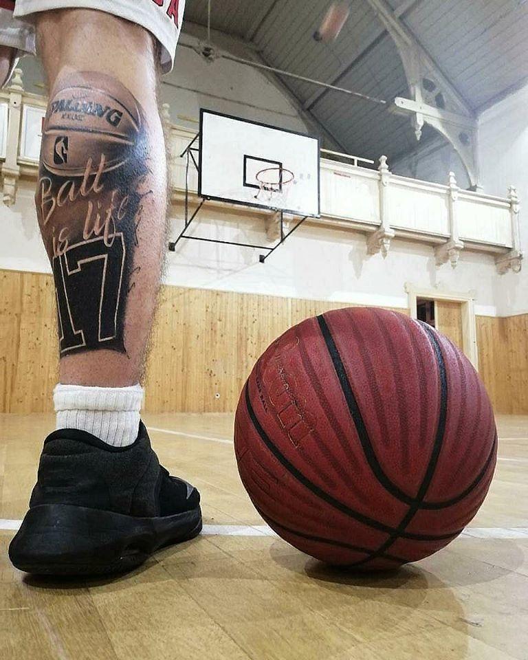 Basketbalové tetovanie