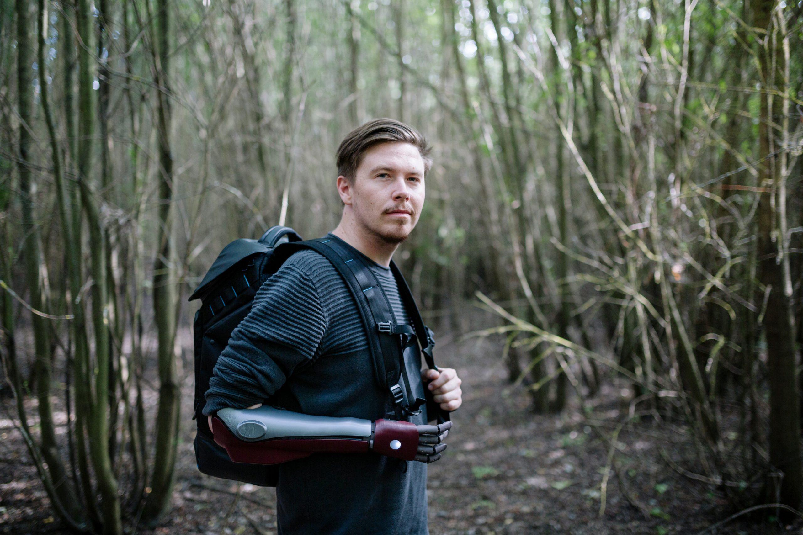 Daniel Melville na prechádzke