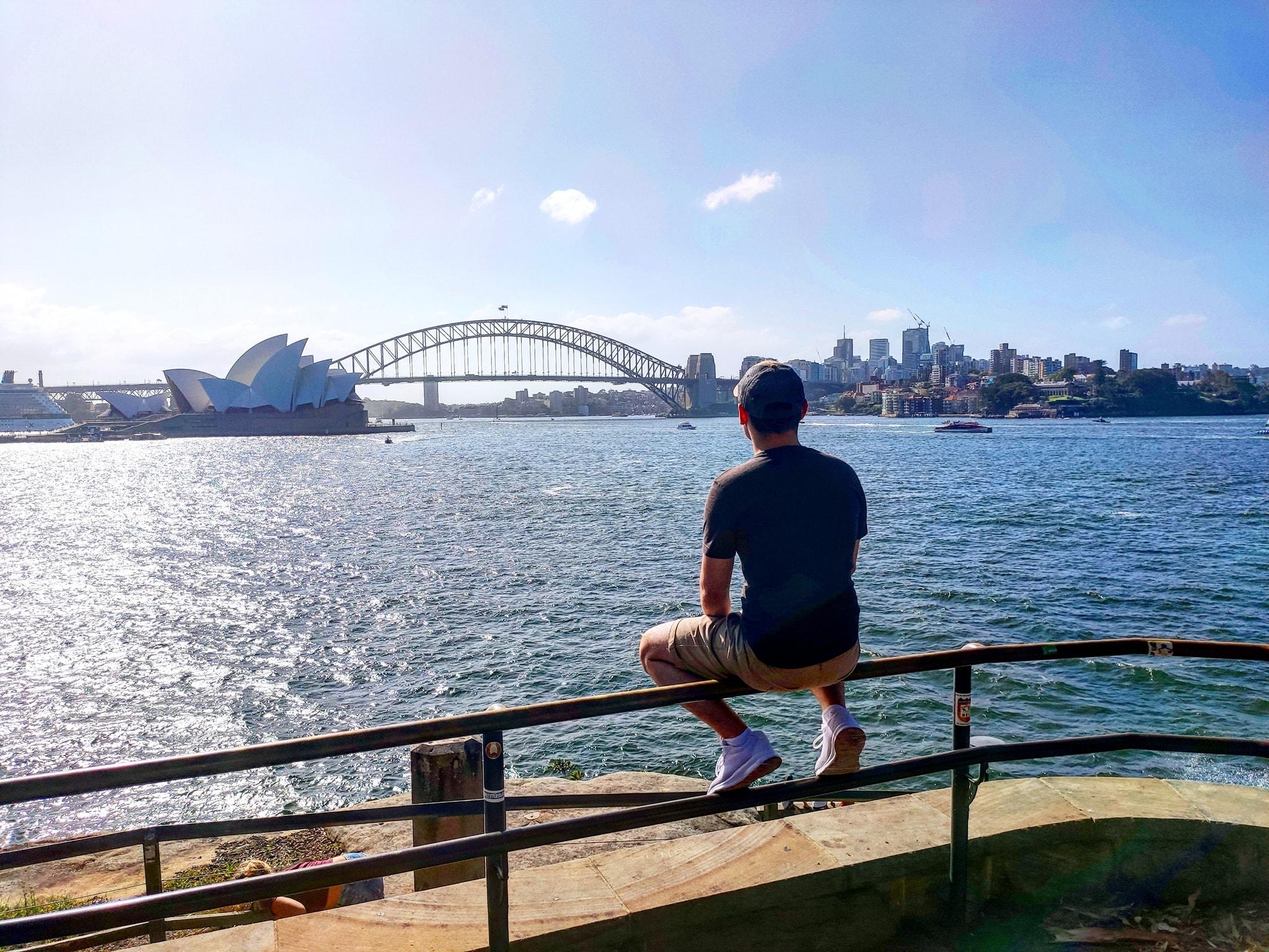 Lukáš Miček, Sydney