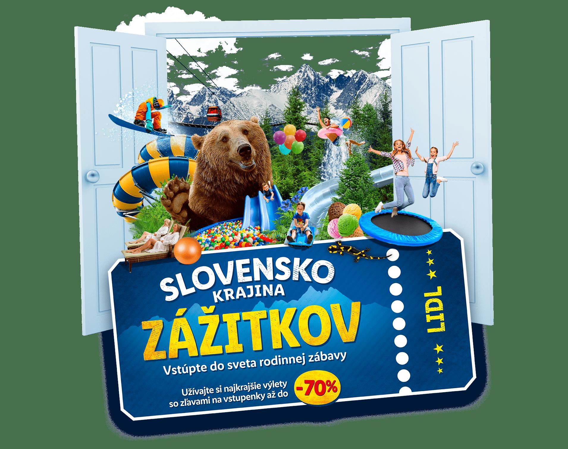 Slovensko krajina zážitkov.