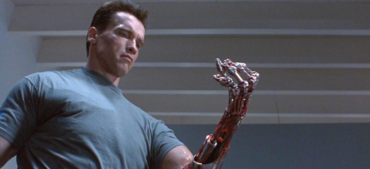 Záber s filmu Terminátor