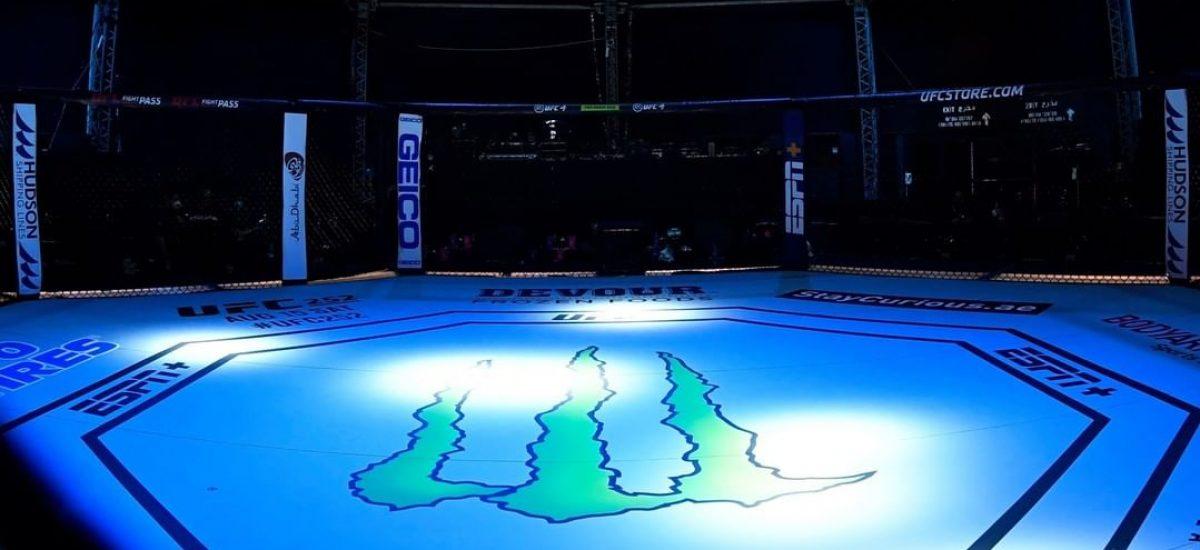 UFC ostrov pred začiatkom turnaja