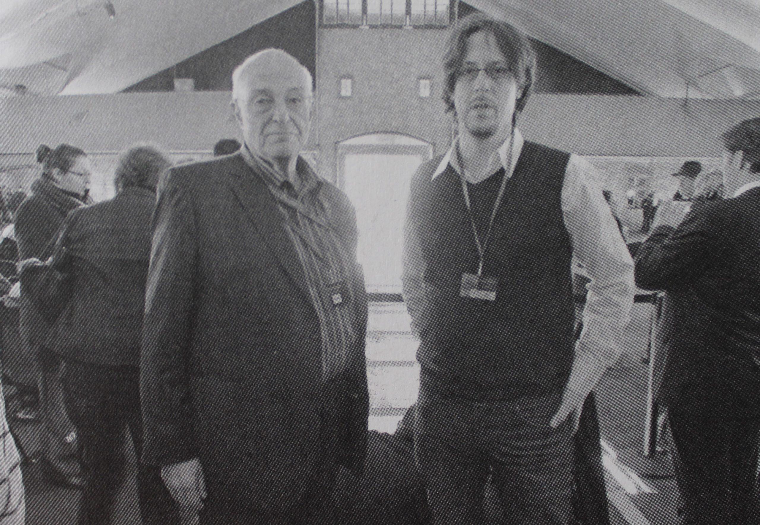 Pavel Taussig zo svojím synom