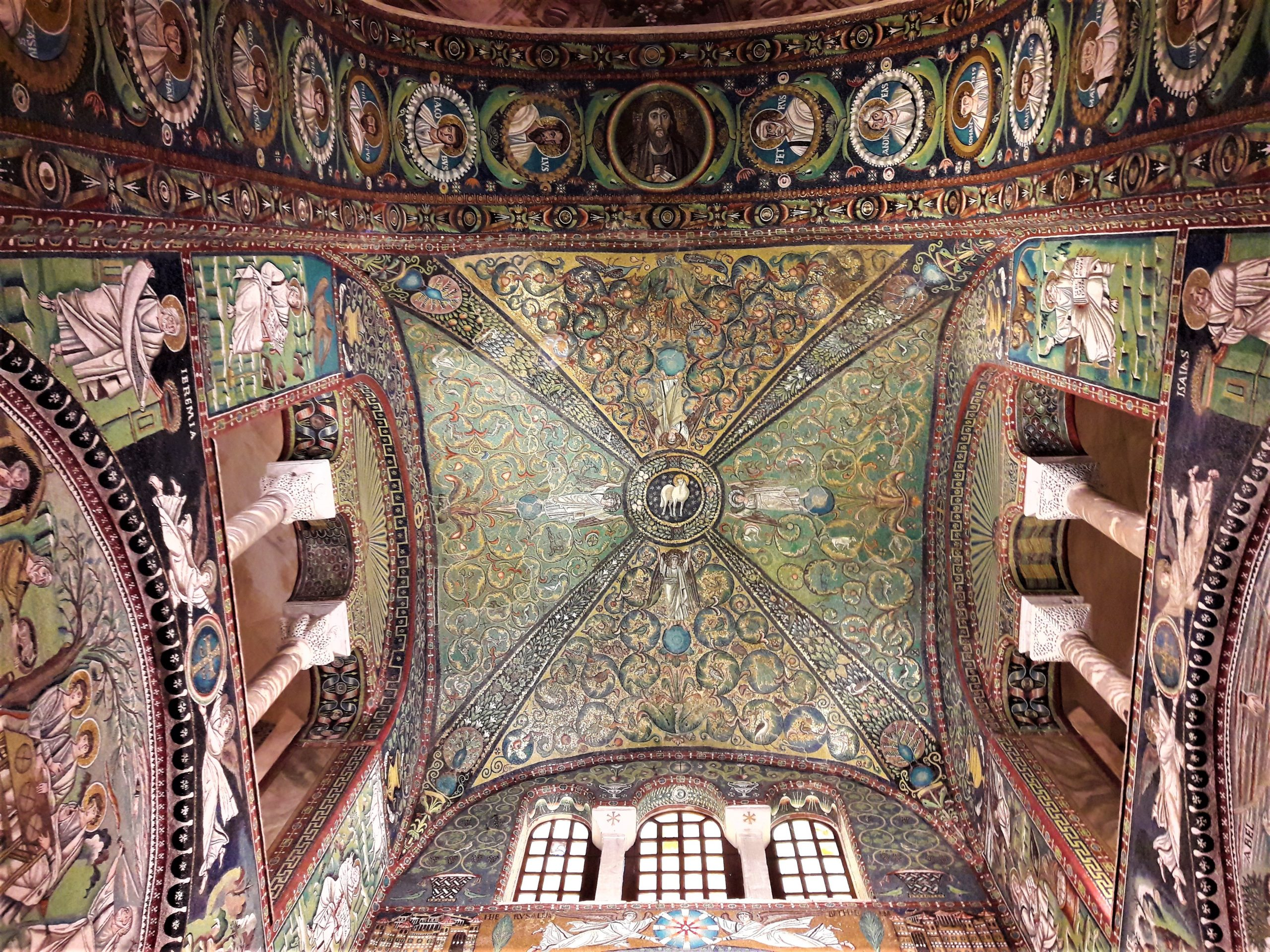 Mozaika Baziliky San Vitale