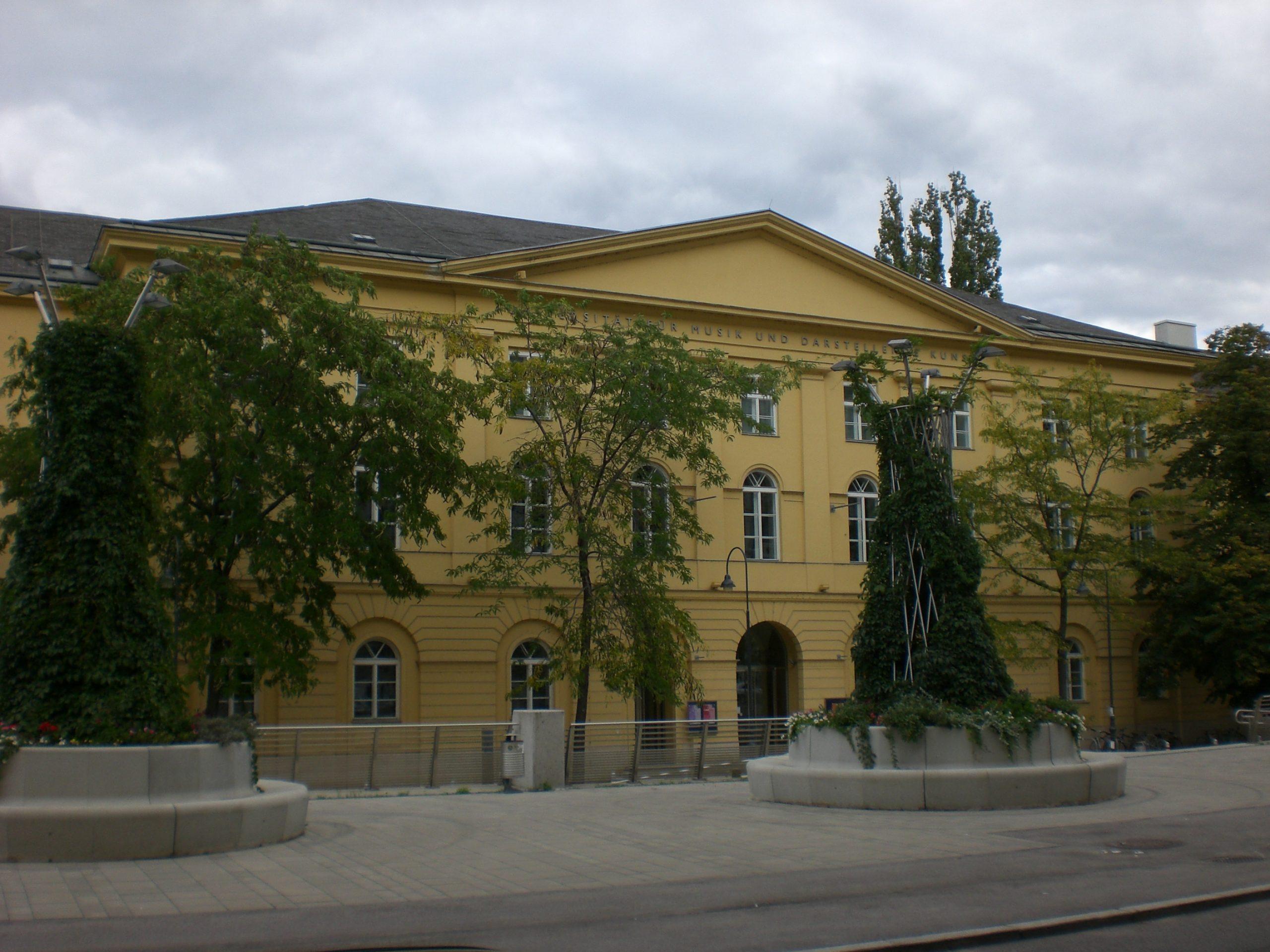 Univerzita vo Viedni, na ktorej Veronika študovala