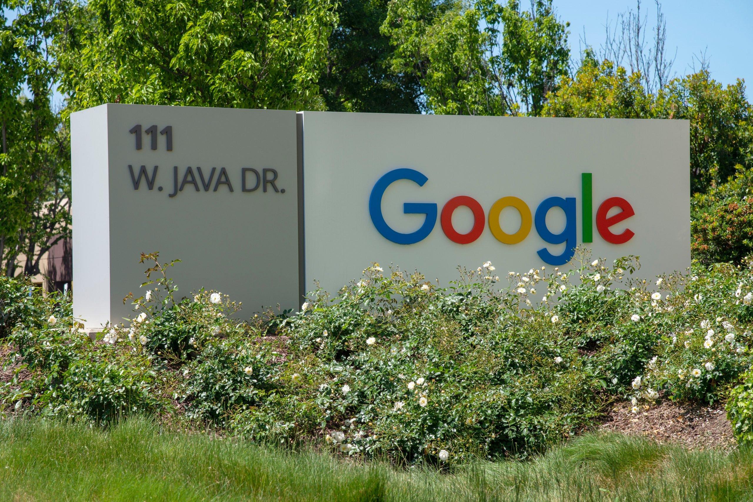 Spoločnosť Google v Sunnyvale