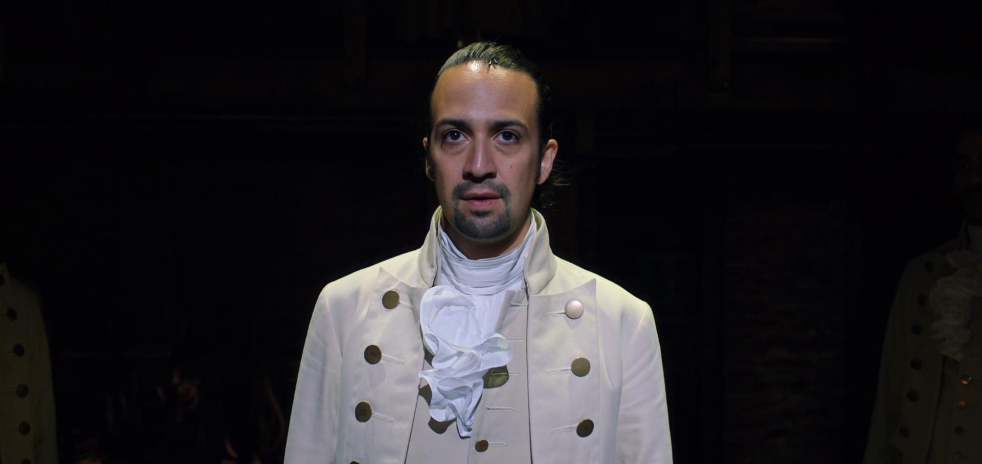 Záber z muzikálu Hamilton